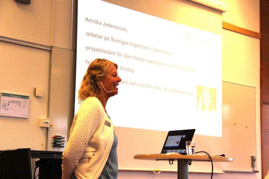 Sveriges Ingenjörer, Annika Jederström