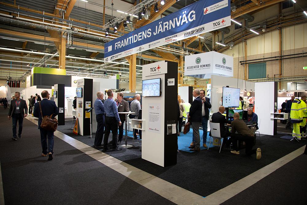 Framtidens Järnväg med en samlingsmonter på Nordic Rail mässan