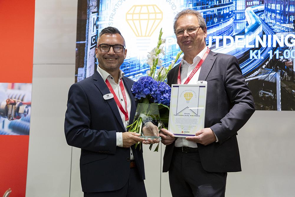 Strukton Innovation Award 2019 går till projekt Framtidens Järnväg