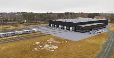 En ny depå byggs i Nässjö