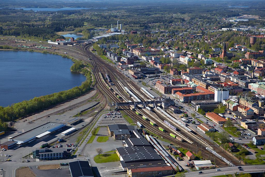 satsningar inom järnvägsbranschen i Nässjö